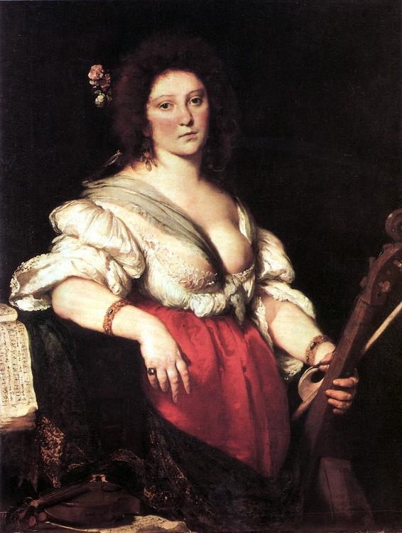 8fbcd95b0a7 Ιταλίδα τραγουδίστρια της εποχής του πρώιμου μπαρόκ και από τις πρώτες  γυναίκες συνθέτριες, που άφησε το στίγμα της στην ιστορία της μουσικής.