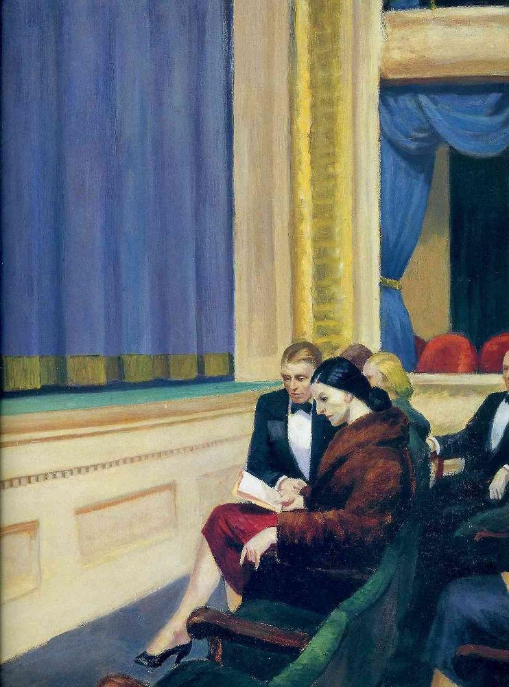 First Row Orchestra (1951), Μουσείο Αμερικανικής Τέχνης Σμιθσόνιαν (Ουάσινγκτον, ΗΠΑ)