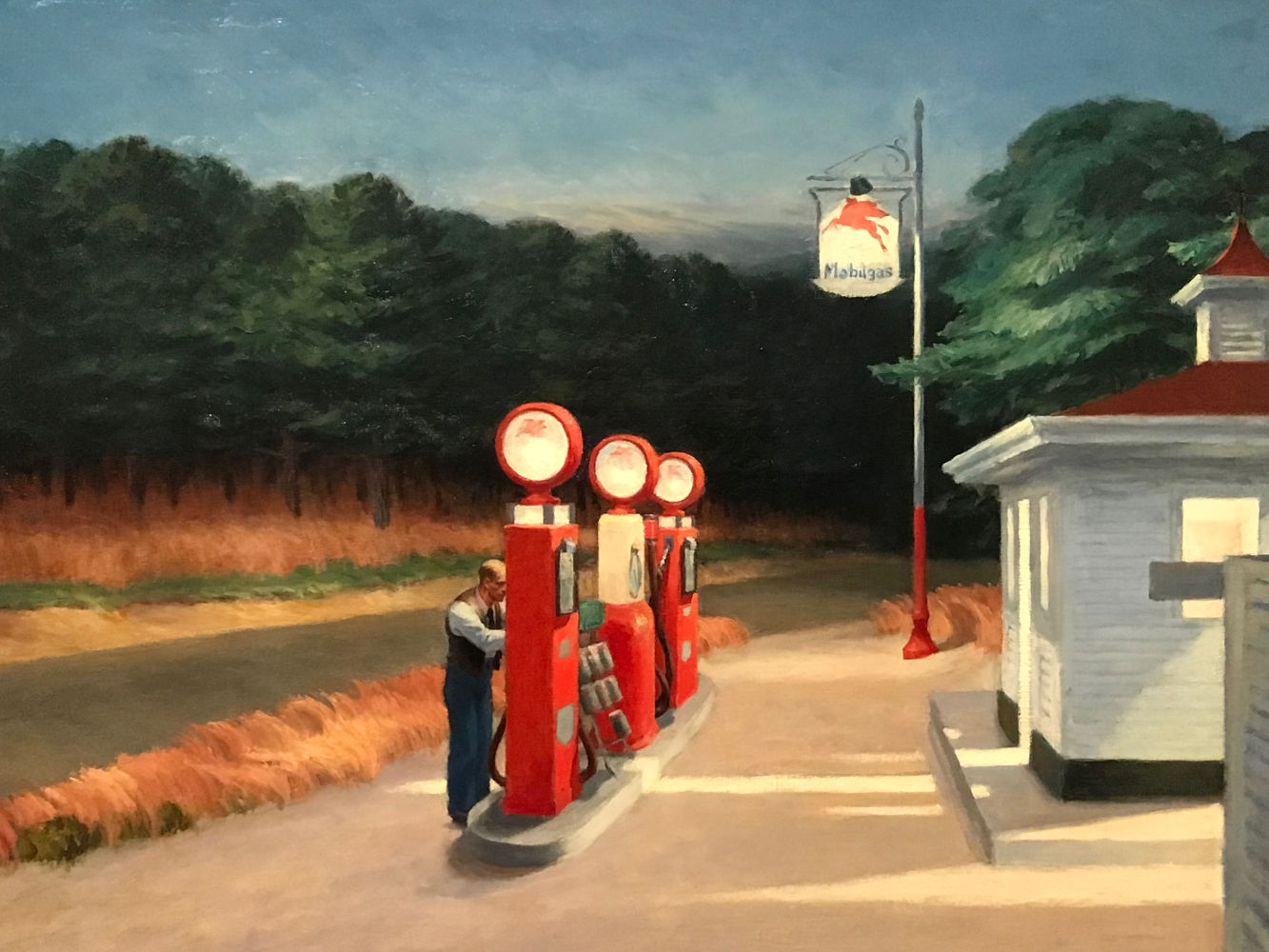Gas (1940), Μητροπολιτικό Μουσείο της Νέας Υόρκης
