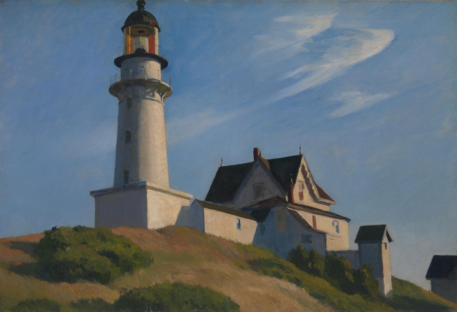 Lighthouse at Two Lights (1929), Μητροπολιτικό Μουσείο της Νέας Υόρκης