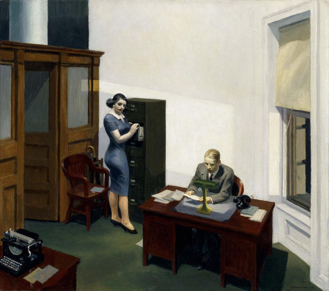 Office at Night (1940), Κέντρο Τέχνης Γουόκερ (Μινεάπολις, ΗΠΑ)