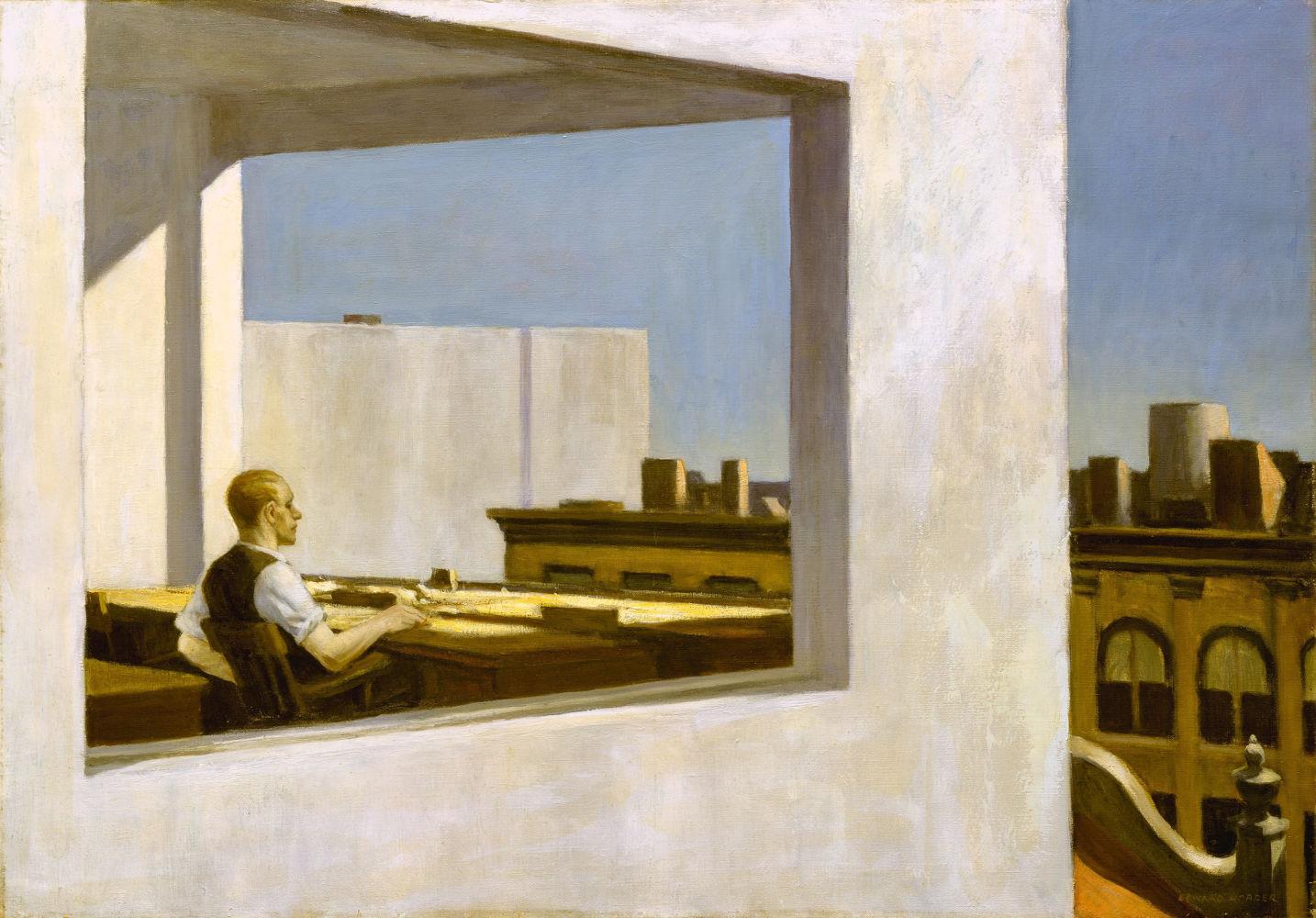 Office in a Small City (1953), Μητροπολιτικό Μουσείο της Νέας Υόρκης