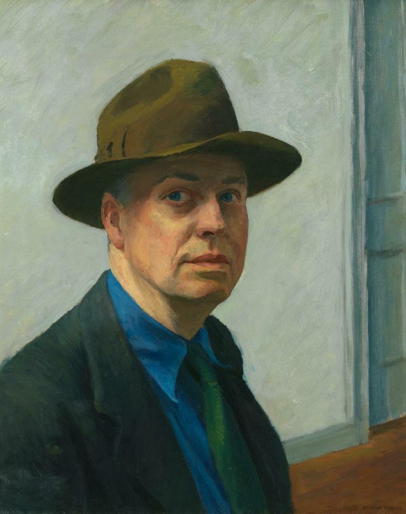 Self-Portrait (1925-1930), Μουσείο Γουίτνεϊ της Νέας Υόρκης