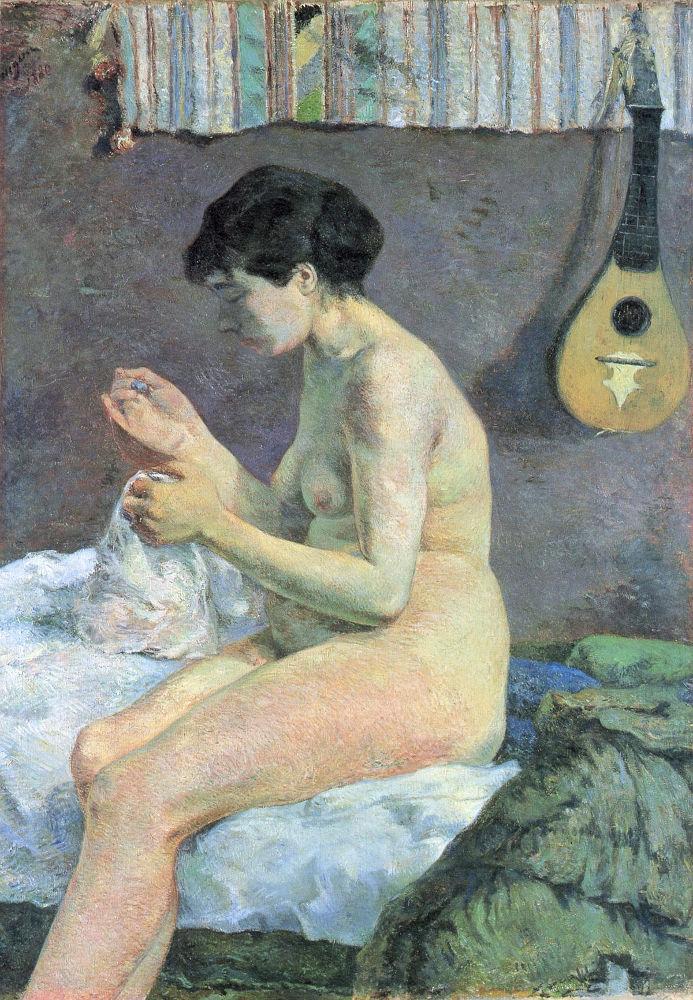 Σπουδή του γυμνού ή η Σουζάνα που ράβει (1880) - Γλυπτοθήκη Κάρλσμπεργκ Κοπεγχάγης
