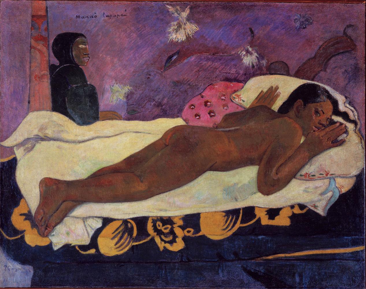 Μανάο Τουπαπάου (Το πνεύμα των νεκρών αγρυπνά, 1892) - Γκαλερί Ολμπράιτ-Νοξ στο Μπάφαλο της Νέας Υόρκης