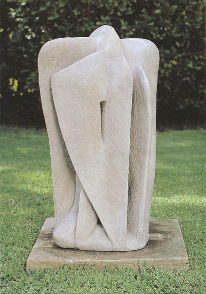 «Μετάβαση», 1961. Χαλαζίτης, 67x31x25 εκ.