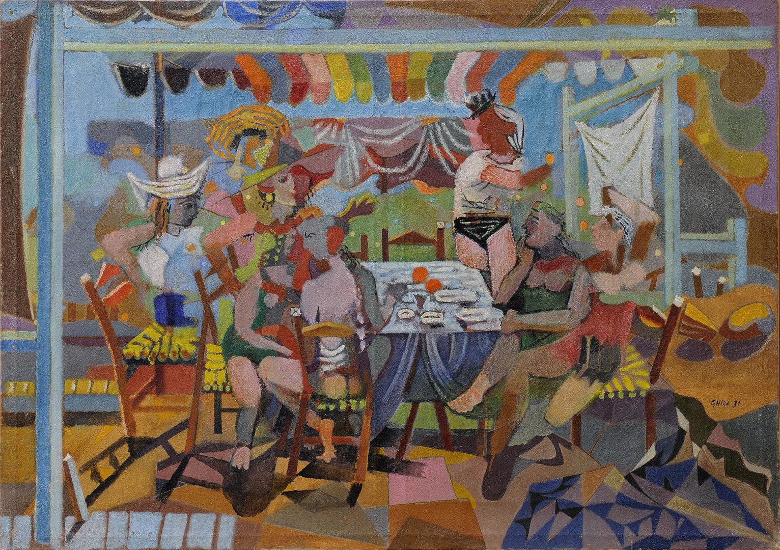 Γλέντι στο ακρογιάλι, 1931