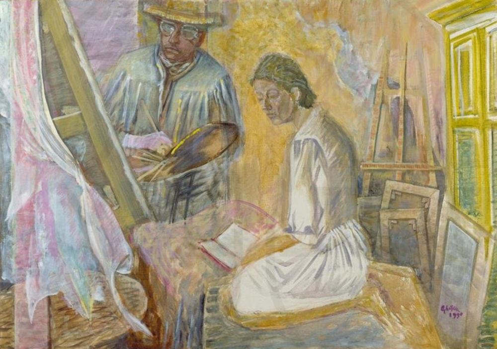 Ο καλλιτέχνης και η γυναίκα του (1990)