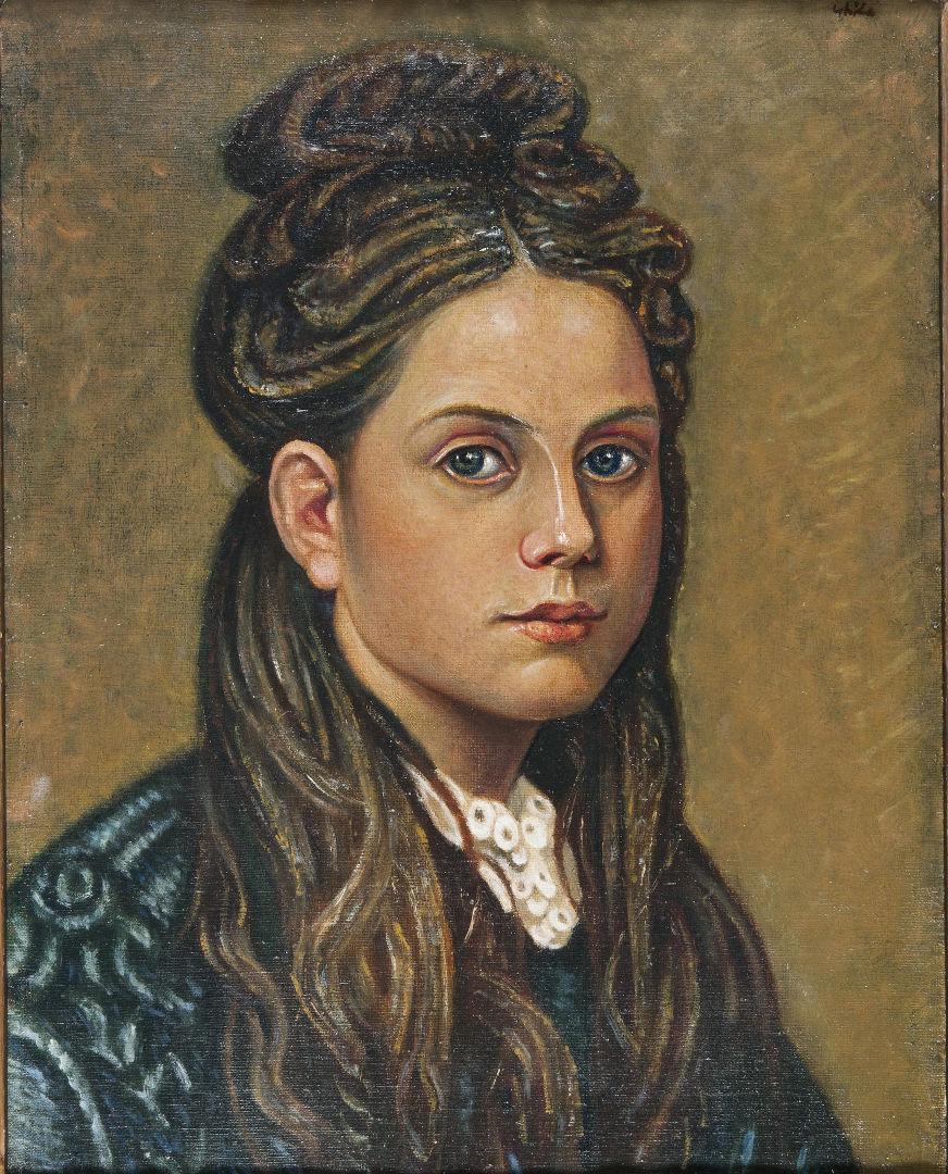 Προσωπογραφία κοριτσιού (1935-1940)