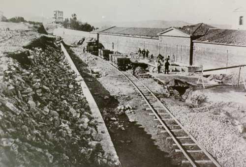 Ο σταθμός του Θησείου το 1880