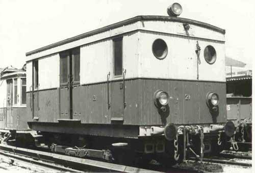 Οχημα σιδηροδρόμου για βοηθητικές εργασίες