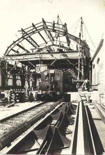 Κατασκευή Σταθμού Πειραιά (1926)