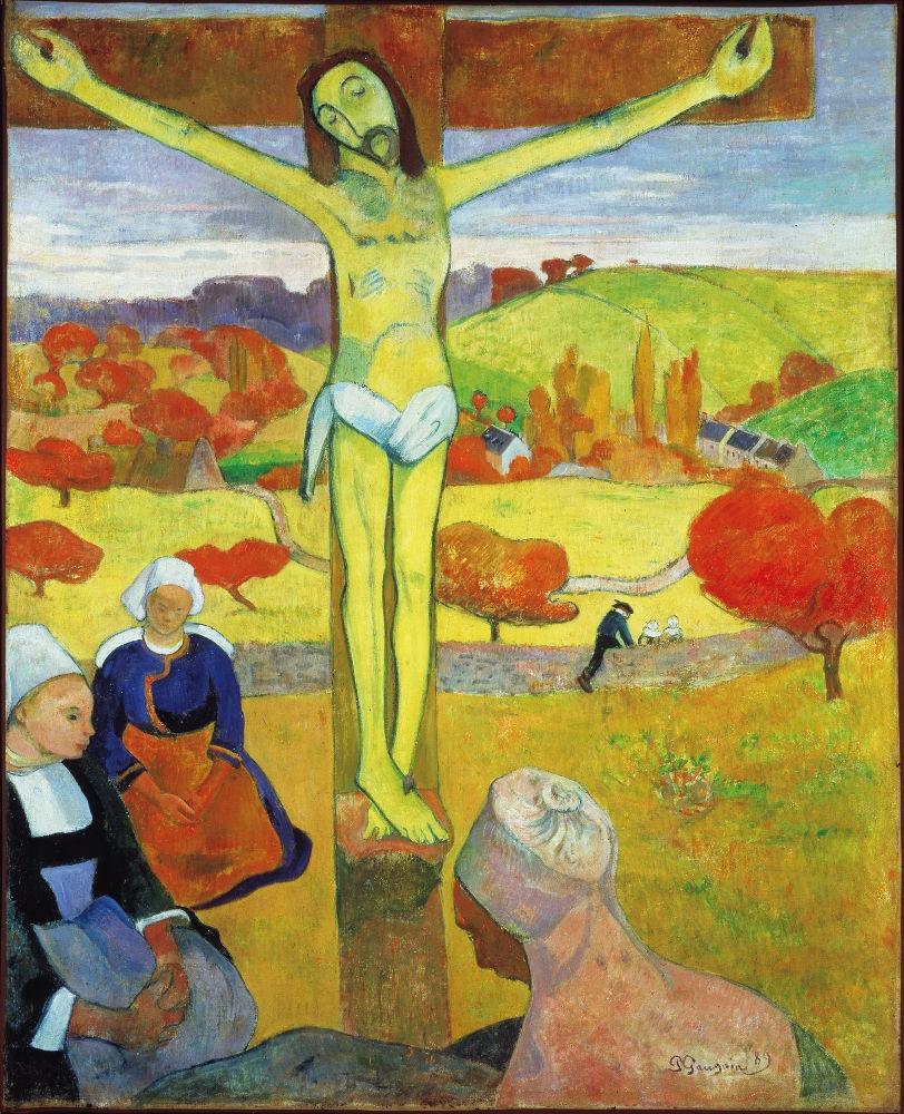 Ο Κίτρινος Χριστός (1889) -Πινακοθήκη Ολμπράιτ-Νοξ (Μπάφαλο, ΗΠΑ)