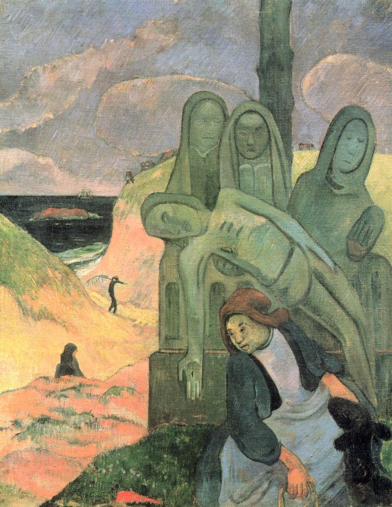 Ο πράσινος Χριστός (1889) - Βασιλικά Μουσεία Καλών Τεχνών του Βελγίου (Βρυξέλλες)