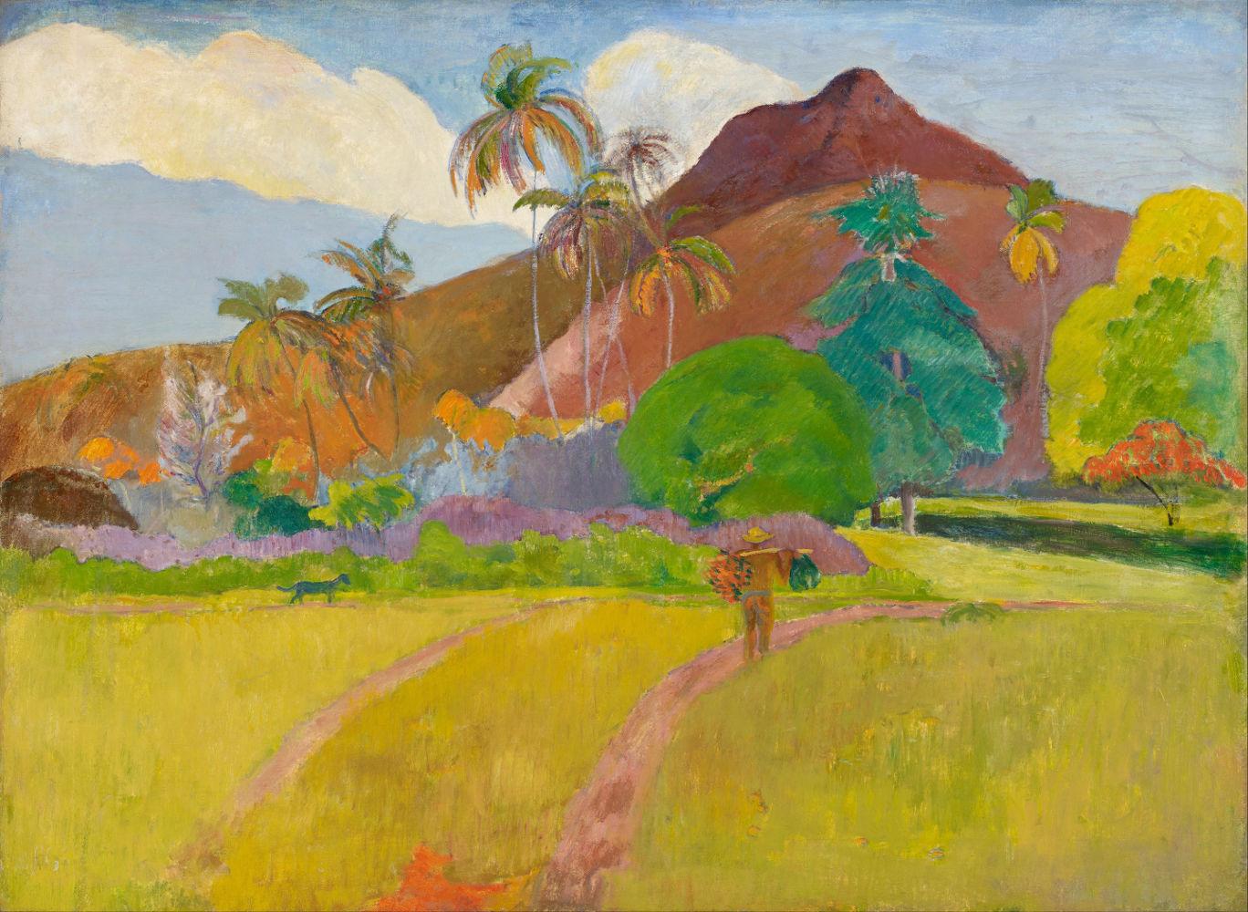 Ταϊτιανό Τοπίο (1891) - Ίδρυμα Καλών Τεχνών Μινεάπολης ΗΠΑ