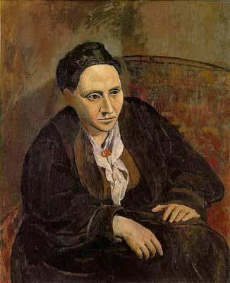 Πορτρέτο της Γερτρούδης Στάιν (1906)