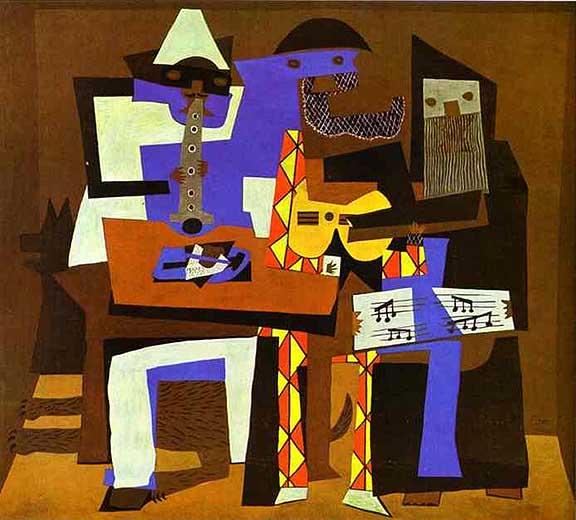 Οι τρεις μουσικοί (1921)