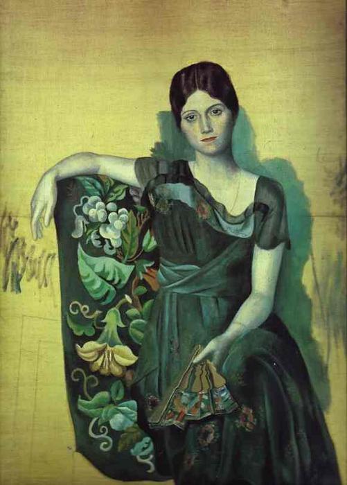 Πορτρέτο της Ολγας στην πολυθρόνα (1917)