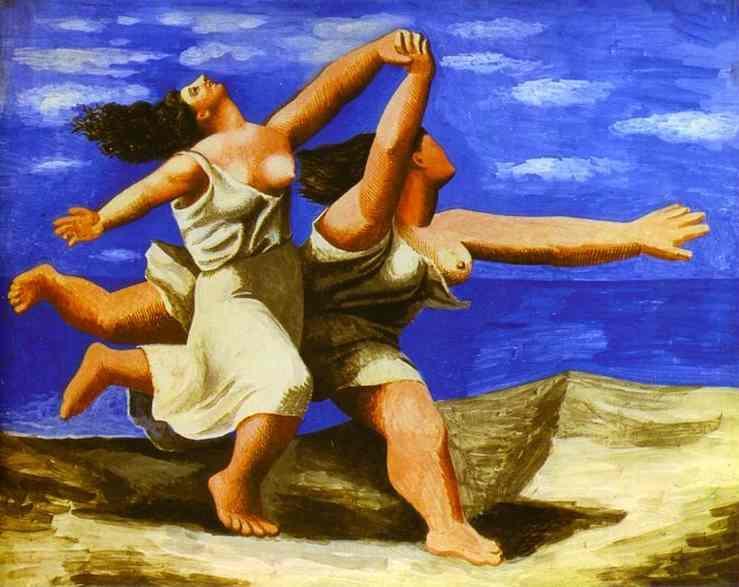 Γυναίκες που τρέχουν στην παραλία (1922)