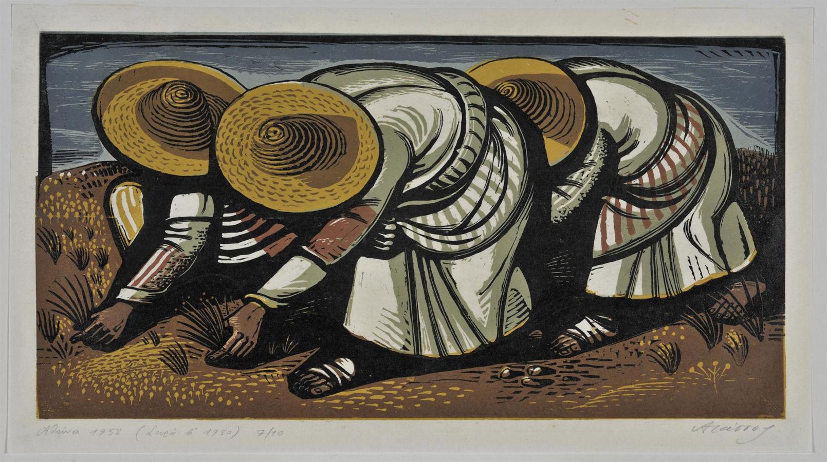 Αγρότισσες, 1958