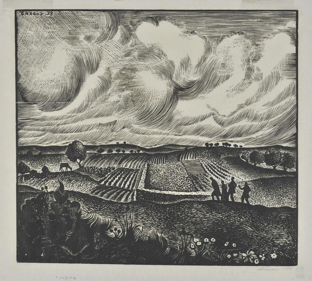 Κάμπος το χειμώνα, 1938