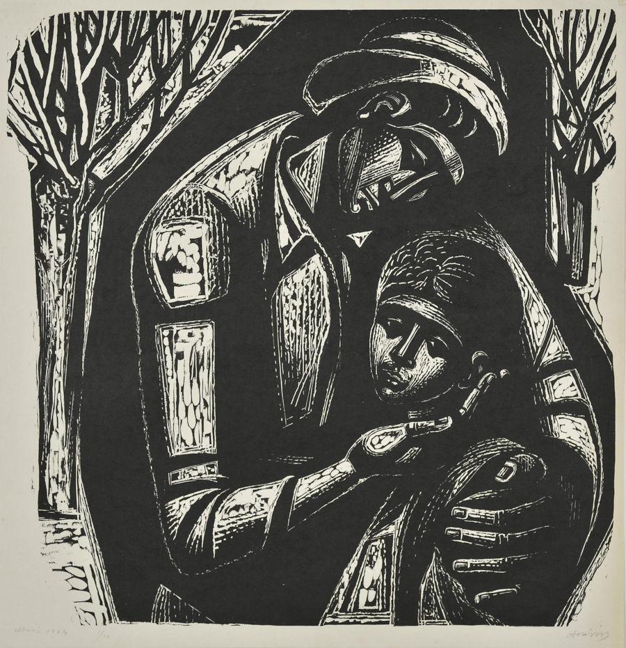Σύνθεση με μάνα και παιδί, 1963