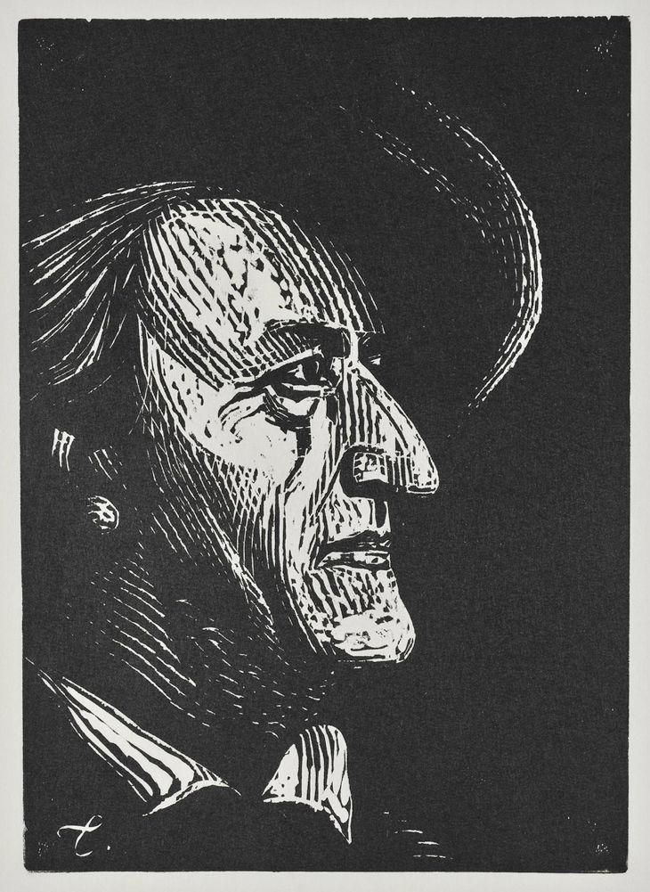 """Βάγκνερ (εξώφυλλο για το περιοδικό """"Θέατρο""""), 1963"""