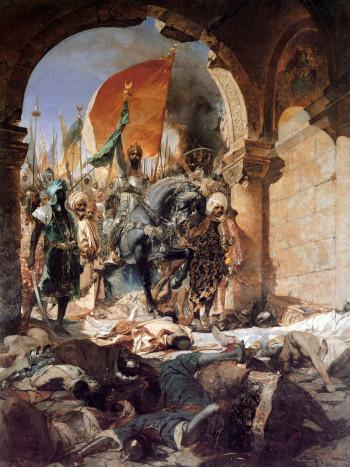 Alosi_Konstantinoupolis-Mahomet 29 Μαϊου 1453: Η Άλωση της Κωνσταντινούπολης