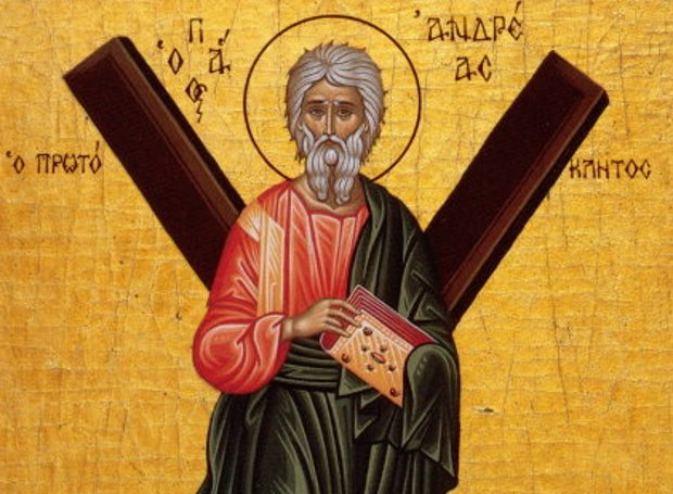 Image result for Άγιος Ανδρέας ο Απόστολος, ο Πρωτόκλητος