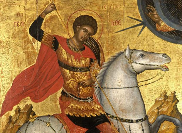 Αποτέλεσμα εικόνας για άγιος γεώργιος και μέγας κωνσταντίνος