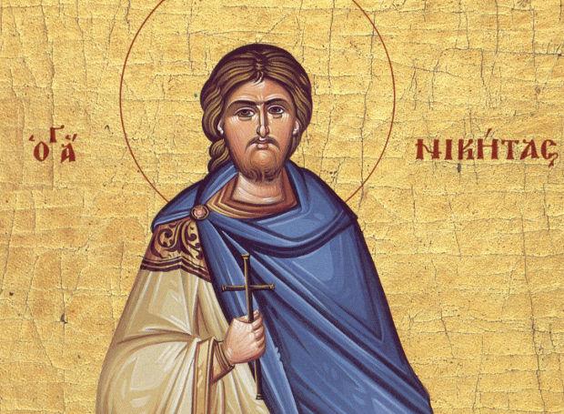 Αποτέλεσμα εικόνας για αγιος νικητας μεγαλομαρτυρας