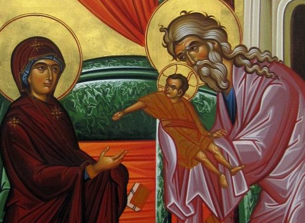 Αποτέλεσμα εικόνας για αγιος συμεων ο θεοδοχος