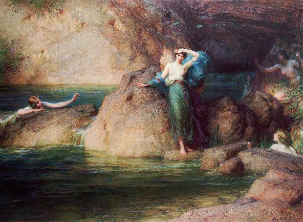 Η Αλκυόνη ψάχνει τον σύζυγό της, έργο του Χέρμπερτ Τζέιμς Ντρέιπερ (1915)