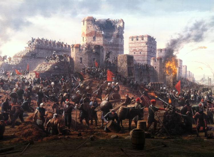 Σαν σήμερα .Η Άλωση της Κωνσταντινούπολης