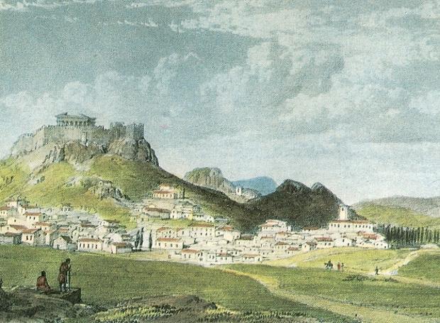 Η Αθήνα το 1837