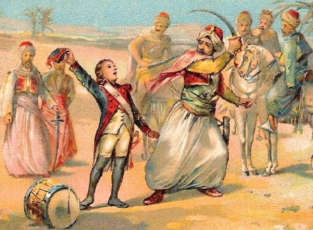 Ο Μικρός Τυμπανιστής στη Μάχη της Νικόπολης