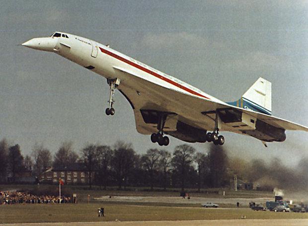 Η πρώτη πτήση του υπερηχητικού επιβατικού αεροπλάνου Κονκόρντ