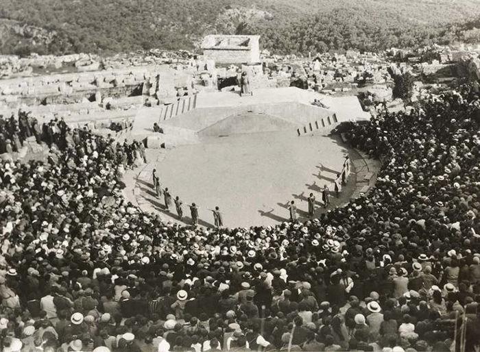 Δελφικές Γιορτές, 1927