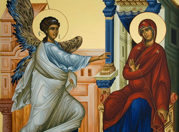 Image result for ευαγγελισμοσ θεοτοκου