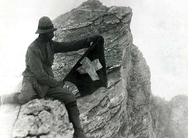Ο Φρεντερίκ Μπουασονά στην πρώτη ανάβαση στον Όλυμπο