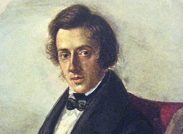 Ο Σοπέν σε ηλικία 25 ετών (πορτρέτο της Μαρία Βοτζίνσκα, 1835)