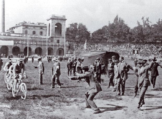 Ο πρώτος Γύρος της Ιταλίας, 1909