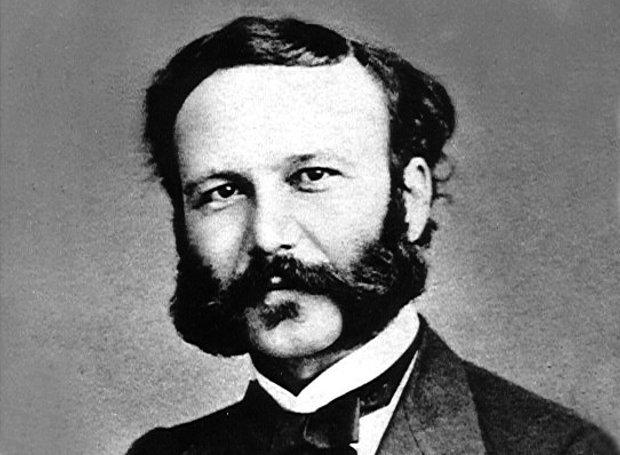 Ο ιδρυτής του Ερυθρού Σταυρού, Ερρίκος Ντυνάν