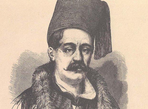 Ο Ιωάννης Κωλέττης την εποχή που υπηρετούσε ως πρεσβευτής στο Παρίσι (χαλκογραφία εποχής)