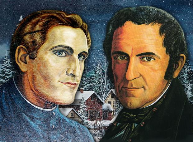 Γιόζεφ Μορ (αριστερά) - Φραντς Γκρούμπερ (δεξιά)