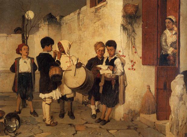 <em>Κάλαντα</em>, Νικηφόρος Λύτρας, 1872