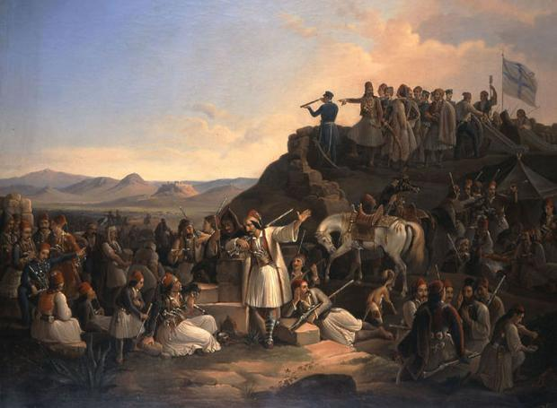 Πίνακα του Θεόδωρου Βρυζάκη