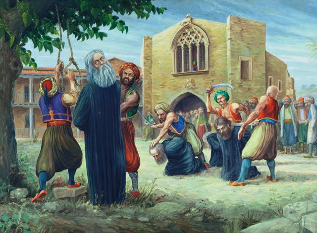 Ο απαγχονισμός του Αρχιεπισκόπου Κύπρου Κυπριανού