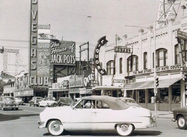 Το Λας Βέγκας τη δεκαετία του '50
