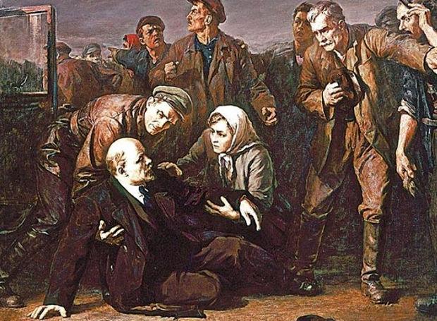 Η δολοφονική απόπειρα κατά του Λένιν